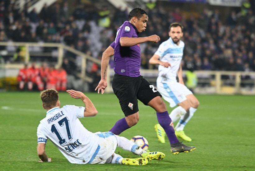 Serie A: Fiorentina-Lazio 1-1