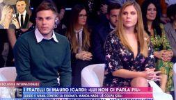 "Guerra in casa Icardi: ""Wanda Nara manipola Mauro"""