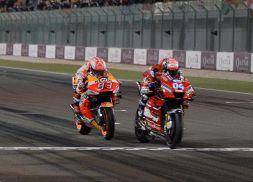 MotoGp Qatar pagelle: Dovizioso super, Rossi top. Lorenzo flop