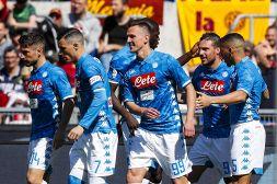 Roma-Napoli 1-4 immagini e pagelle: top Milik-Mertens flop romano