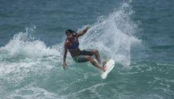 Cade fulmine in mare, muore campionessa brasiliana di surf