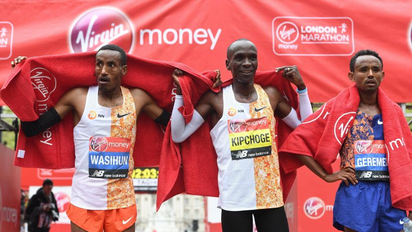 Maratona di Londra: vince Kipchoge. Bravissimo il nostro Rachik