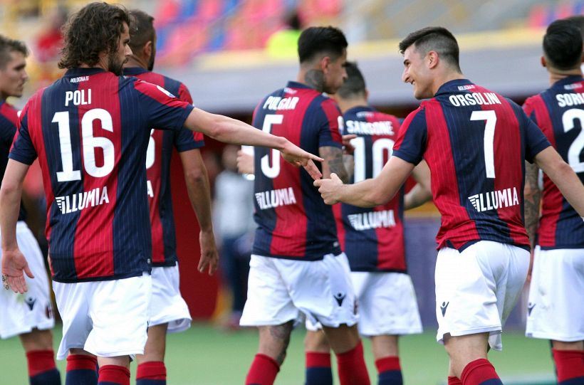 Serie A: Bologna-Sampdoria 3-0