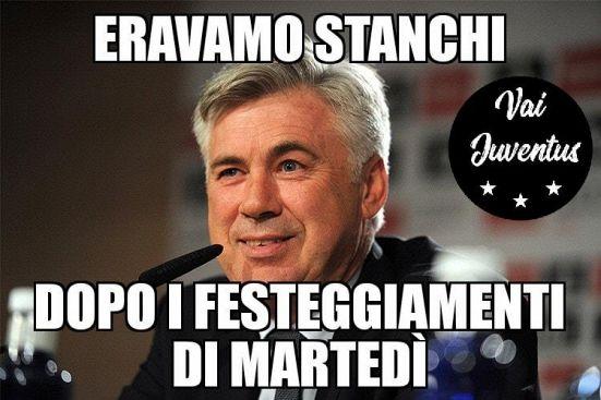 Napoli fuori in Europa League: ora ridono juventini e non sul web