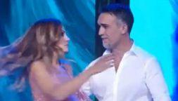 Batistuta danza con la sua Irina a Ballando con le stelle