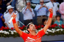 Madrid, Djokovic vince e fa tris