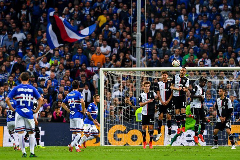 Serie A: Sampdoria-Juventus 2-0