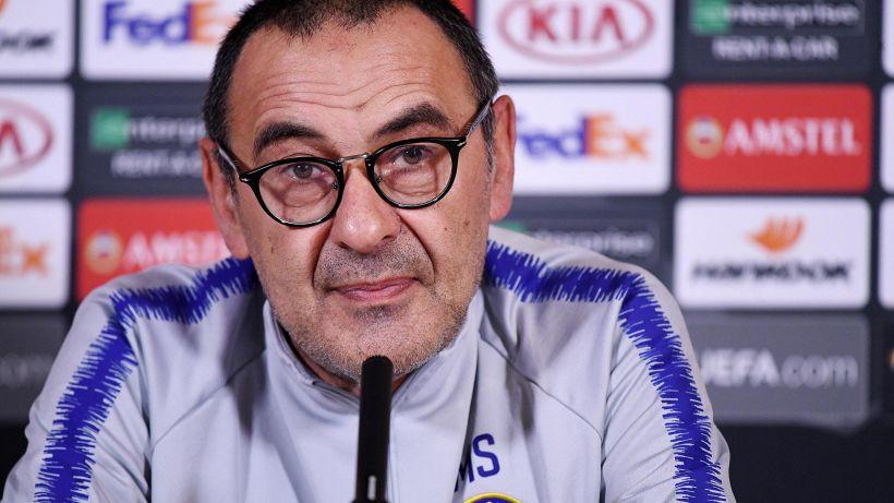 Sarri, altro messaggio chiaro alla Juventus