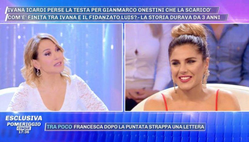 Ivana Icardi e il triangolo con Galesio e Onestini: l'annuncio