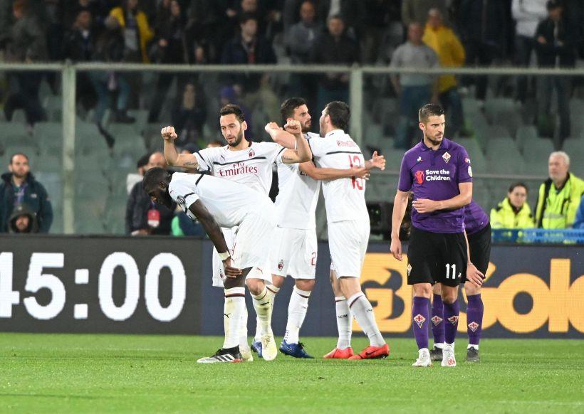 Serie A: Fiorentina-Milan 0-1