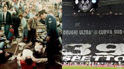 Heysel 34 anni fa la tragedia: la Juve e i suoi tifosi ricordano