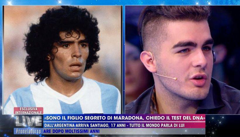 Santiago, il figlio segreto di Maradona, svela una verità scomoda -  Virgilio Sport