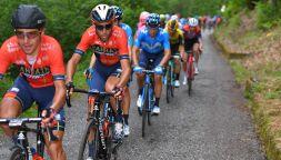Giro: Ciccone, vittoria eroica. Nibali stacca Roglic e vede rosa