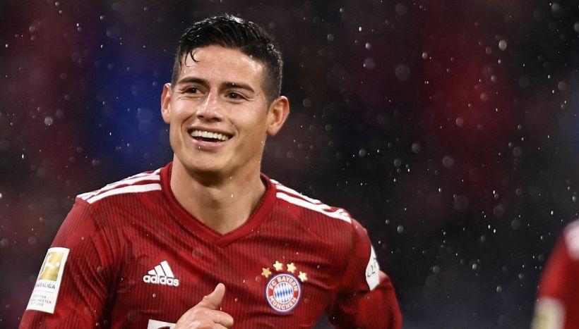 Il Bayern molla James Rodriguez, Juve e Napoli alla finestra