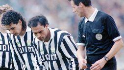 Quando Totò Schillaci diede una testata a Roberto Baggio