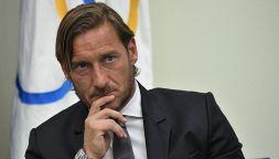 Francesco Totti lascia la Roma: le foto della conferenza stampa