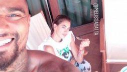 Boateng e Melissa Satta, foto social segna il ritorno di fiamma