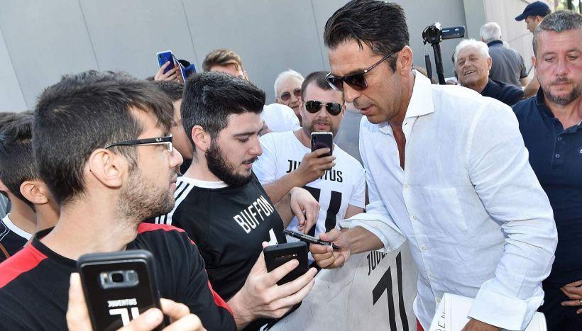 Juventus, Buffon svela tutto e mette nel mirino Conte