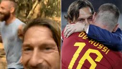 Daniele De Rossi di nuovo insieme a Francesco Totti: il video