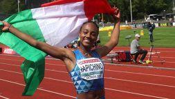 Atletica, Larissa Iapichino: neo campionessa e figlia d'arte