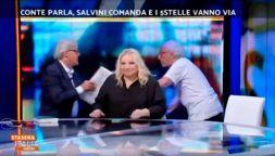 Rissa Sgarbi-Mughini, l'ironia degli anti-Juve