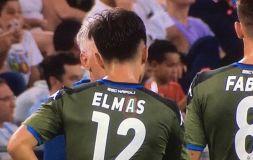 Napoli pazza di Elmas, ma quel nome sulla maglia?