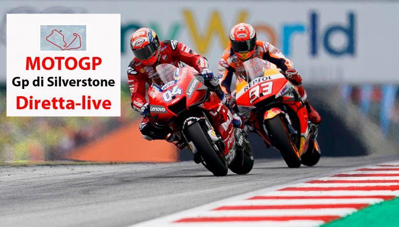 MotoGP, gp di Gran Bretagna: Rins beffa Marquez, quarto Rossi