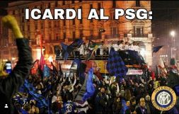 Icardi al Psg scatena i social interisti: festa sul web!