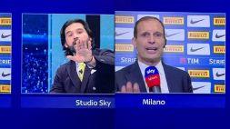 Scintille Insigne-Marocchi, quanti litigi tv: Allegri, Mou, Ibra