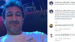 Amici Celebrities: la nuova sfida dell'ex calciatore Ciro Ferrara