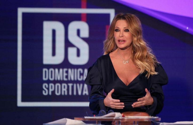 La gaffe di Paola Ferrari dopo Roma-Juve fa scatenare il web