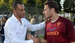 """Morto il figlio di Cafu, lo sconcerto di Totti: """"Non è possibile"""""""