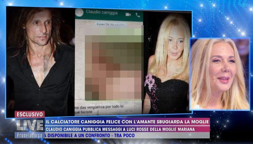 La ex moglie di Caniggia non cede e svela i suoi gusti sessuali