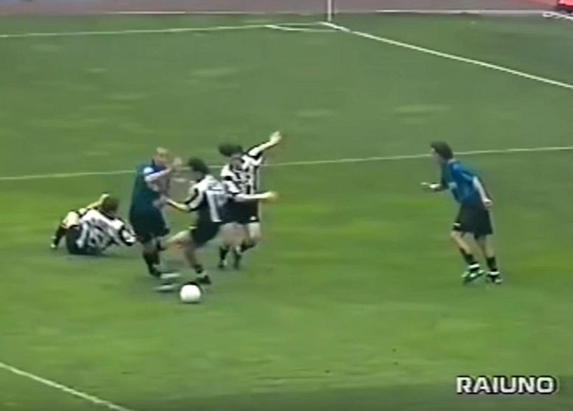Marelli su rigore Iuliano-Ronaldo del '98 in era Var, web in tilt