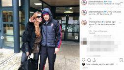 Mihajlovic lascia l'ospedale: l'abbraccio di sua moglie Arianna