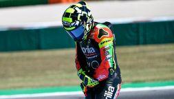 MotoGP, test Valencia: va a fuoco la moto di Iannone. Parole dure