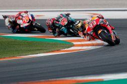 MotoGp Valencia pagelle: Marquez super, Rossi male. Grazie Jorge