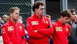 F1, GP Abu Dhabi: il caso benzina non convince Ferrari e Binotto