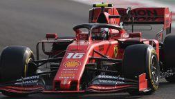 F1, GP Abu Dhabi: Ferrari, multa da 50.000 euro e podio Leclerc