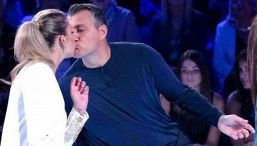Costanza Caracciolo e Christian Vieri: lieto annuncio in diretta