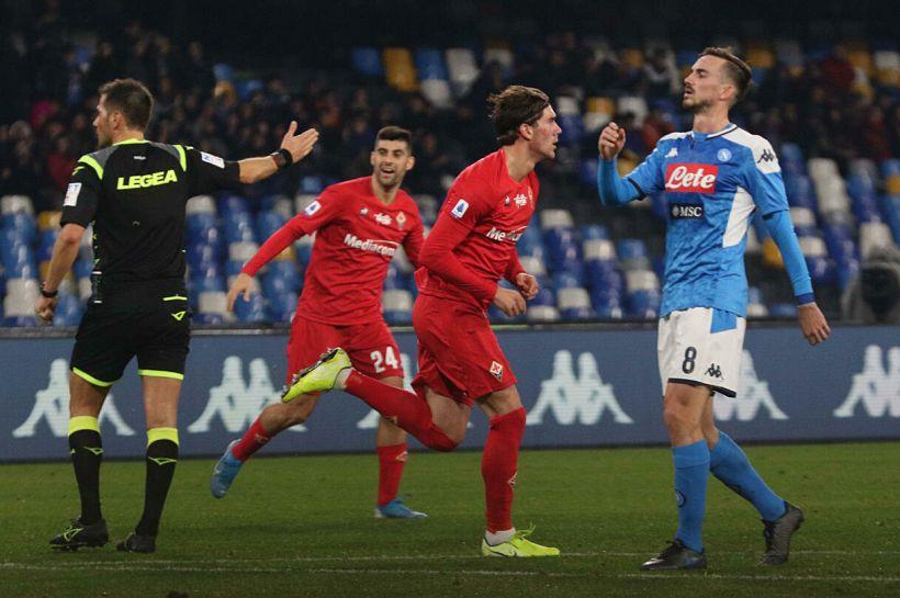 Marelli fa chiarezza su rigore negato alla Fiorentina col Napoli