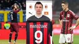 Milan: Mandzukic sfida la maledizione del 9. Tutti i flop