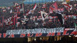 Milan-Sampdoria: coro becero offende le vittime del Ponte Morandi