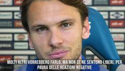 """Calcio, Ekdal rompe un tabù: """"Omofobia è molto diffusa"""""""