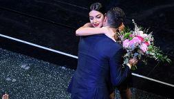 Cristiano Ronaldo e Georgina rubano la scena a Sanremo