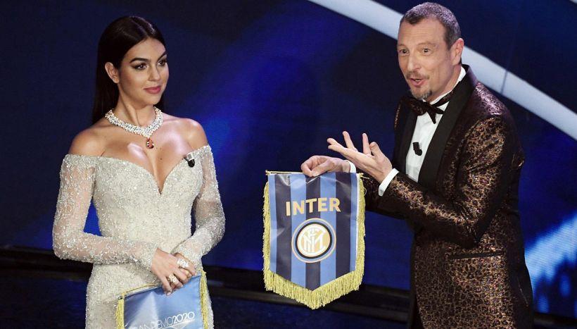 Sanremo 2020: Georgina Rodriguez, dedica e promessa a Amadeus