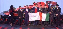 F1, la presentazione della nuova Ferrari in diretta