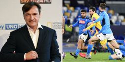 Pari Napoli, il lapsus freudiano di Caressa diventa virale