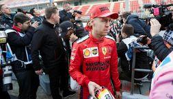F1, test Barcellona: Ferrari, gira Leclerc. Attesa per Vettel