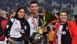 Cristiano Ronaldo lascia Torino per tornare da mamma Dolores